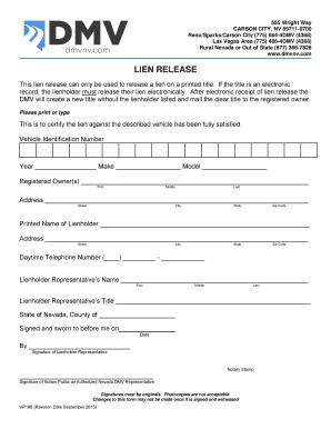 2015 2019 Form Nv Dmv Vp186 Fill Online Printable Fillable