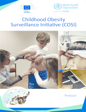 Fillable Online Childhood Obesity Surveillance Initiative Cosi Who Europe Fax Email Print Pdffiller