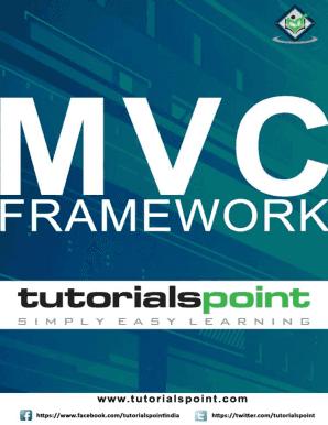 Mvc Tutorials Point