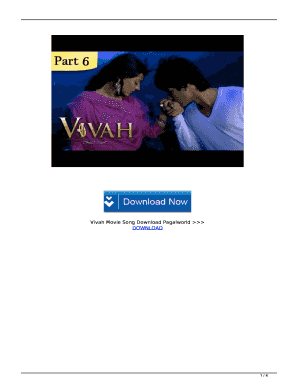 Vivah Movie Song Download Pagalworld Fill Online Printable Fillable Blank Pdffiller