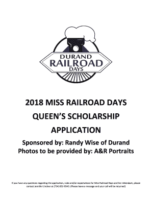 Randy Wise Durand >> Fillable Online Queens Scholarship Fax Email Print Pdffiller