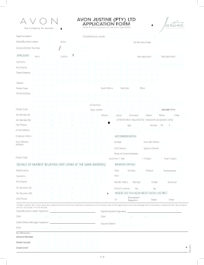 avon order form download pdf  Avon Order Form - Fill Online, Printable, Fillable, Blank ...