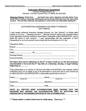 Withdrawal Form For School - Fill Online, Printable, Fillable ...