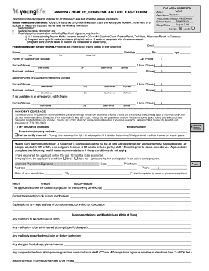 Fillable Online Health Form-Interactive Capernaum - Hanover County ...
