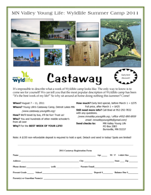 WL Castaway 2011 flyer.pub - Minnesota Valley Young Life - mnvalley younglife