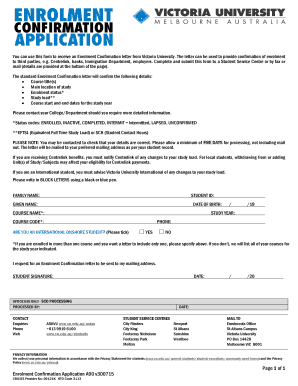 You can use this form to receive an enrolment confirmation letter preview of sample scd thecheapjerseys Image collections