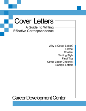 Cover Letters - Middle Tennessee State University