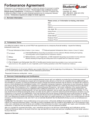 South Carolina Forbearance Agreement - Ultimate Medical Academy - alumni ultimatemedical