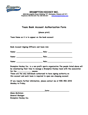 Bank authorization form doritrcatodos bank authorization form altavistaventures Choice Image