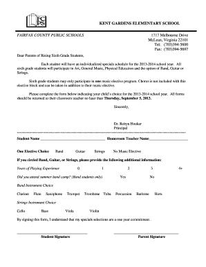 Gift in kind form fill online printable fillable blank pdffiller for Kent gardens elementary school