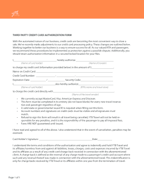 third party credit card authorization form with ytb