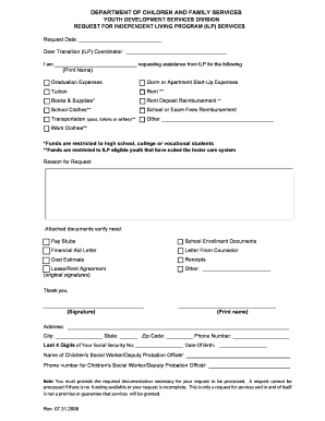 Printable sample letter requesting reimbursement of expenses