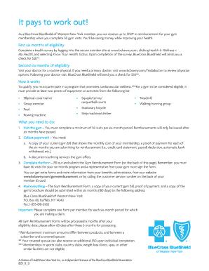 blue cross blue shield reimbursement forms Templates - Fillable ...