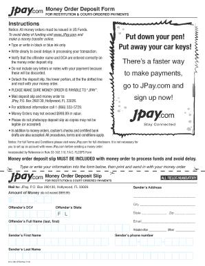 money order form pdf  Fillable Online DC6-6 Money Order Deposit Form.pdf Fax ...