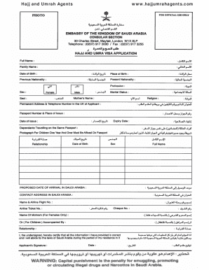 Hajj Application Form 2015 Pakistan Pdf