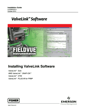 Fillable Online Installation Guide D102800X012 October 2010