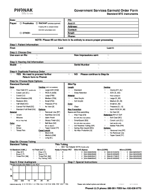 Phonak Service Form Cogu Lessecretsdeparis Co
