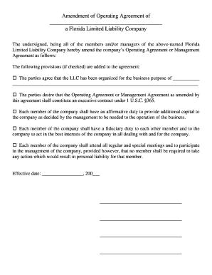 Editable member managed llc operating agreement florida fill out member managed llc operating agreement florida platinumwayz