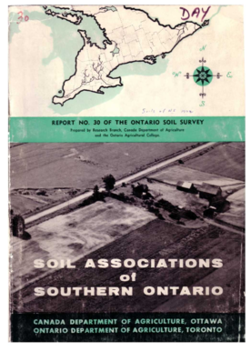 REPORT NO 30 OF THE ONTARIO SOIL SURVEY - Agriculture and