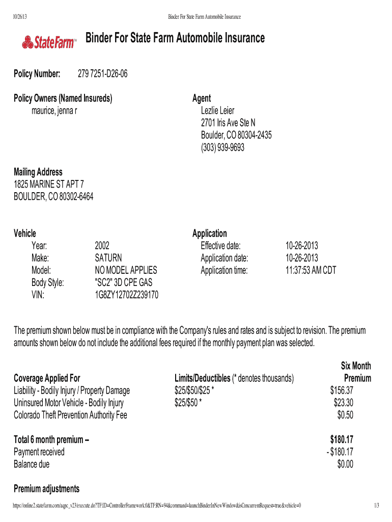 State Farm Insurance Card Template - Fill Online, Printable Pertaining To Fake Auto Insurance Card Template Download