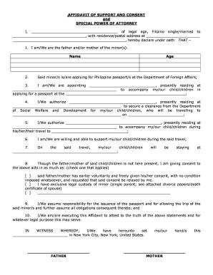 Form 1-134 Affidavit Of Support Pdf