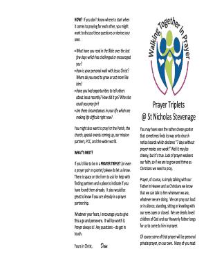 graphic regarding St Nicholas Prayer Printable known as Fillable On the internet Prayer Triplets St Nicholas Stevenage PRAYER
