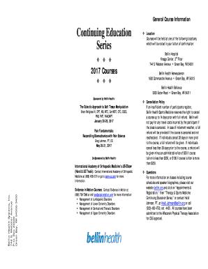 Fillable Online Senior Leadership Team - Bellin Health Fax