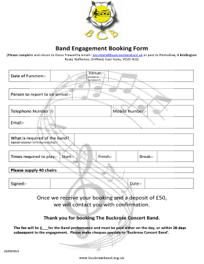Tala private game reserve wedding booking form.