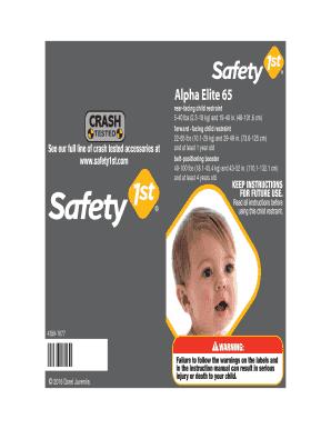Advance 70 Air Plus Car Seat Instructions Cc048 Safety 1st