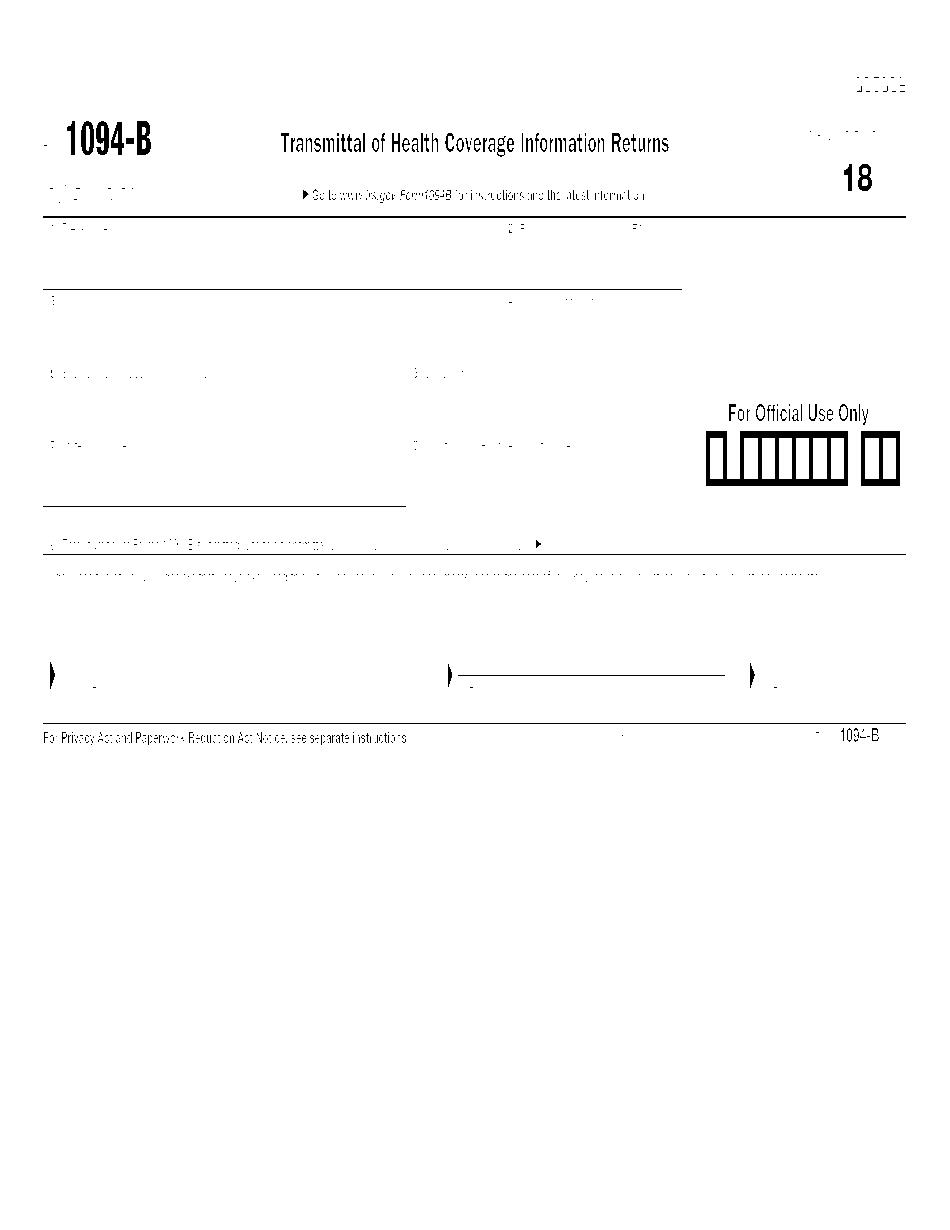 Form 1094-B