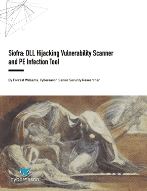 Fillable Online Siofra DLL Hijacking Vulnerability Scanner