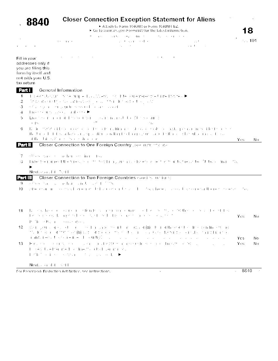 Form 8840