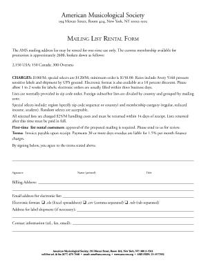 Fillable Online Studio Rental Lease Agreement Template - PDF