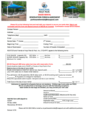 How To Fill Out A Rental Agreement Edit Print Download