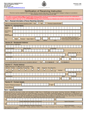 Fillable Online Victoria Police Fraud Reporting Form Fax Email Print Pdffiller