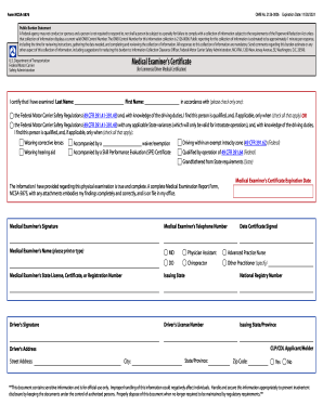photograph about Mcsa-5875 Printable Form known as 2021 Kind DoT MCSA-5875 Fill On the web, Printable, Fillable
