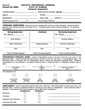 photograph about Employee Review Forms Free Printable known as staff overview styles cost-free pdf - Editable, Fillable