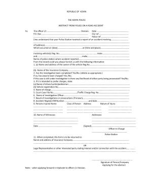 kenya police service standing orders pdf