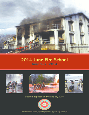 B2014b June Fire School Brochure - CTgov - ct