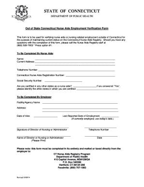 Employment Verification Form Template - Fillable & Printable ...