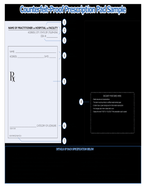 Printable prescription pad fill online printable fillable blank printable prescription pad maxwellsz