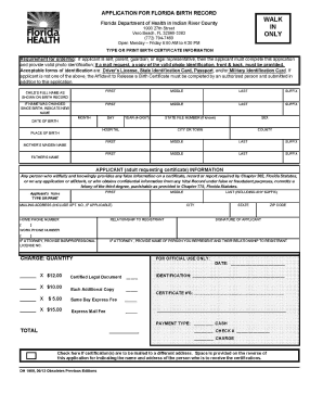 Application Form Birth Certificate - Fill Online, Printable