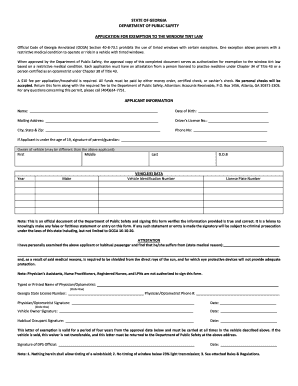 Tennessee State Form For Tint Law - Fill Online, Printable ...