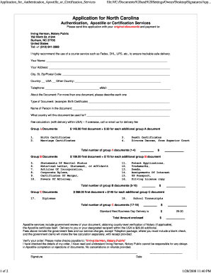 Editable apostille notary to Submit Online in PDF | family
