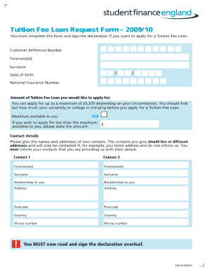 Loan Payment Form