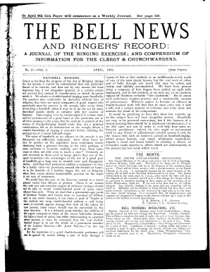 No 15 April 1882 Pp 113 120 Central Council Of Church Bell Bb