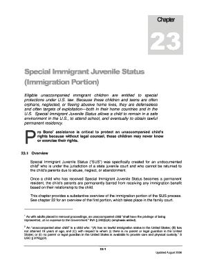 Immigration Affidavit Letter Sample. (Immigration Portion)