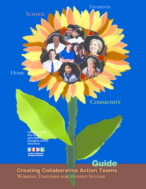 Creating Collaborative Action Teams - Guide - SEDL - wvde state wv