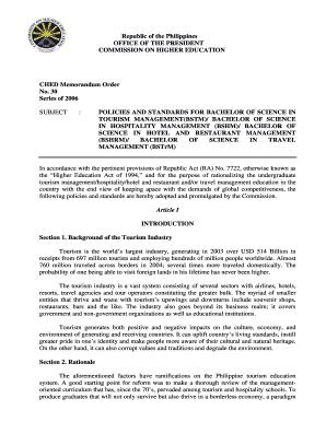 CHED Memorandum Order Fill Online, Printable, Fillable, Blank
