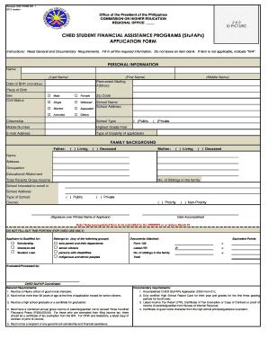 Online Application To Stufaps Form